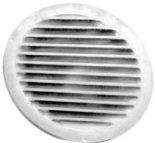 Grotelės apvalios išorinės lieto aliuminio USAV