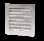 Grotelės išorinės lieto aliuminio YGVN