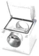 """Izoliuoti ventiliatoriai CAB (""""S&P"""")"""