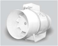 """Kanaliniai ventiliatoriai ašiniai TURBO (""""DOSPEL"""")"""