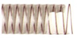 Poliuretaninės žarnos  PU-STANDARD (kirpiniai), storis 0.6 mm.