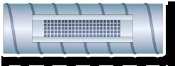 Grotelės LGS-2