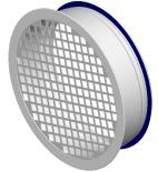 Aklės KLP perforuotos, iš atskirų segmentų, su sandarinimo tarpikliu